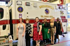 2018 Officers: (Left to Right)  Jessica Vallandingham-Myers, Faith Roache, Cristie Daymude, Michele Estep, Crystal Hoover, Scott Dorsey, Valencia Powell.
