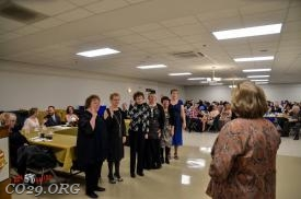 Auxiliary Members taking oath