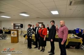 2018 Rescue Squad Association taking Oath